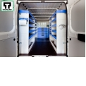 Van equipment system for commercial vehicles - Tecnolam designs and manufactures shelves and drawers for converting the van into a mobile workshop