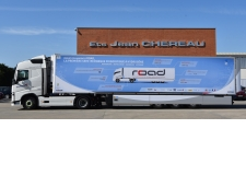 ROAD - The first hydrogen refrigerated semi-trailer.