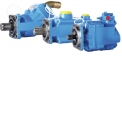 Hydraulic pumps for trucks - HYDRO LEDUC offers a large range of fixed and variable displacement pumps from 10 to 150 cc/rev, perfectly suited to all truck and PTO-mount applications.