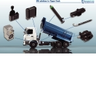 hydraulic components - Power take off, pumps, cylinders, valves, hoses and fittings.