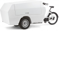 Post & Parcel 1300 - Versatility and an ergonomic design were the main points of focus for this Tender model. We developed this box so that is easy to work with and more practical than any other cargo bike. Comparable to the trunk of a car.