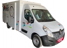 PolyStar for low floor body, with new sliding door - PolyStar truck body kit with new sliding side door, for low floor vehicles<br /> Built with plywood or Petpano ultra-light ecologic composite panels<br /> with recessed light-weight Light Pin Track lashing bars .... ideal for transporting furniture