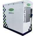 """SMART Plus - For those with a fleet of trucks or buses, GreenChem has developed the smartest solution to store and dispense AdBlue®. The only quality AdBlue® bulk storage and dispensing tank designed and built by an AdBlue manufacturer. No need to suffer the hassle of IBC's or checking the level of AdBlue® in your tank. We can offer an """"all inclusive"""" solution with a fully integrated telemetry system for automatic deliveries."""