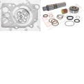 Engine and under carriage parts - Engine parts: gasket sets, cyl. head gasket, oilseals, king pin sets, engine mounting.
