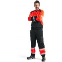 Blaklader High vis sweatshirt trousers 1549