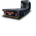 """OPENBOX C+ - Versatile roll-over curtain sider body retracting at the front to load 40"""" containers"""