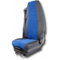 FITTED SEAT COVER - Fitted seat covers fully customized with choice of various materials, colors, embroidery, etc¿. 2 years warranty for your comfort and safety