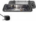 Electronic rearview mirror full screen front & rear camera