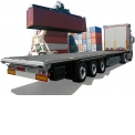 OPENBOX C+ - Roll-over curtainsider body that concertinaed fold to convert into platform