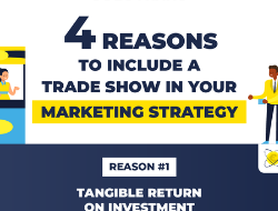 Four reasons to include a trade show in your marketing strategy