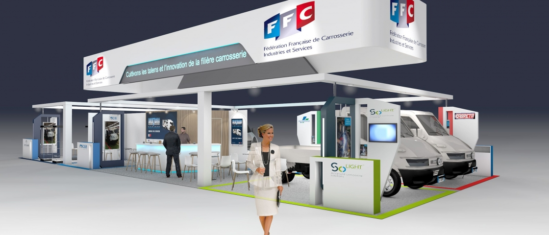FFC booth at the IAA