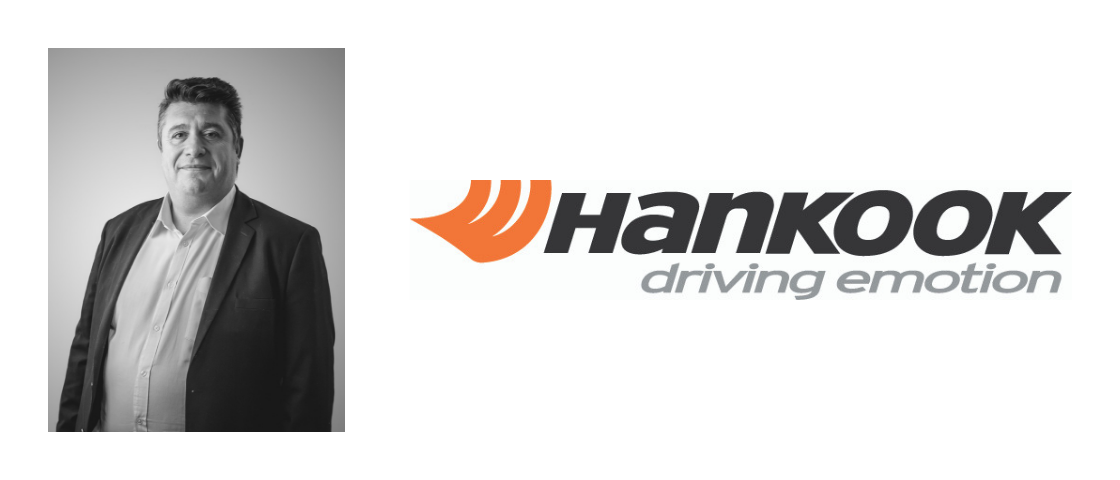 Picture of Xavier ANTRESSANGLE and Hankook's logo
